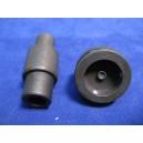 Końcówki do nabijania guzików 17mm - ruchome