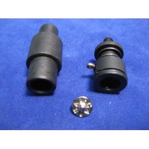 Końcówki do nabijania nitów 9,6mm - typ JEANS