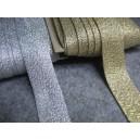 Lamówka brokatowa zaprasowanaa 25mm  opak. - 20mb.