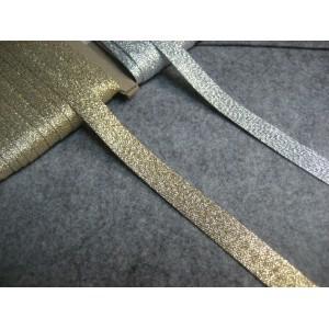 Lamówka brokatowa zaprasowanaa 15mm  opak. - 20mb.