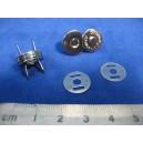 Zapięcie magnetyczne 14mm NIKIEL