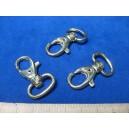 Karabińczyk metalowy 1,6cm kol. ZŁOTO