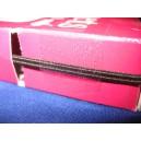 Firzbina tkana 4mm czarna 50mb