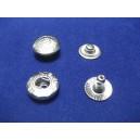 Napy metalowe 12,5 typ ALFA /180kpl/ NIKIEL WZÓR