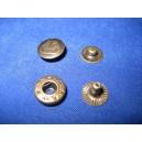 Napy metalowe 12,5 typ ALFA /180kpl/ OXYD