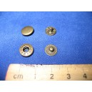 Napy metalowe typ ALFA 10,5mm 180 kpl. Nikiel
