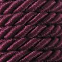 Sznur skręcany fi 6,5 mm /20 mb./     k. bordowy 317