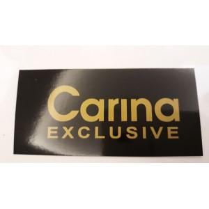 Etykiety kartonowe Carina /200szt./ CZARNA