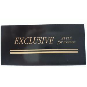 Etykiety EXCLUSIVE For Women /200szt./ CZARNE