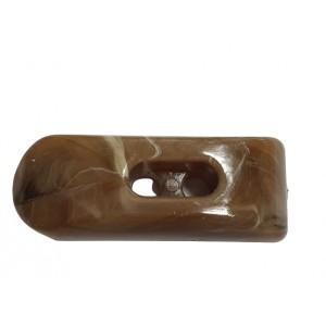 kołki guziki  42 mm  /op.15 szt./ ciemny beż